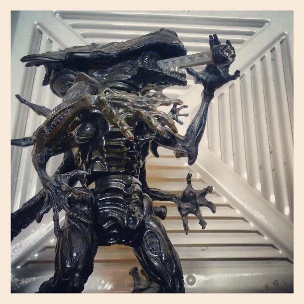 Queen Alien from the old Kenner line in '92. (Taken with  instagram )