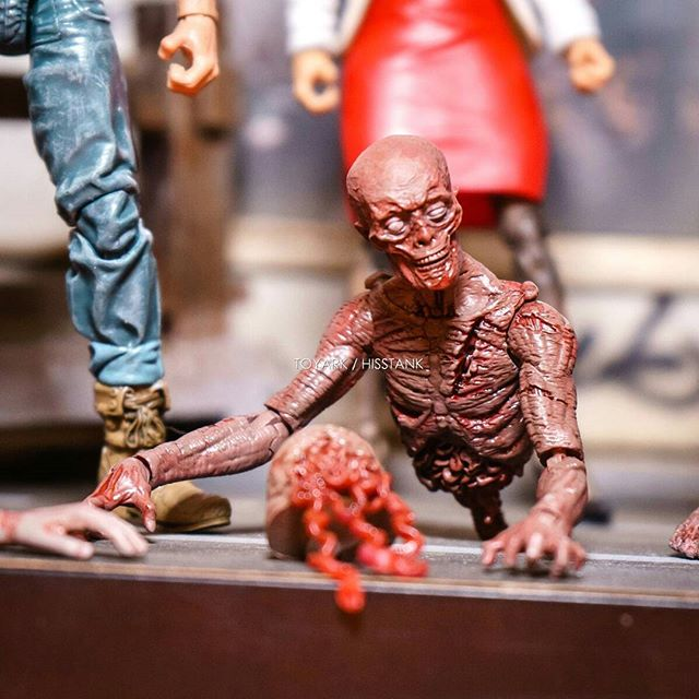 "Check out Zombie Lab on Kickstarter. It's in it's last 12 hours. It's a 1:18 scale (4"") action figure line of Survivors vs. Zombies. The sculpts are all by Boss Fight Studios and are compatible with their HACKS line of figures.  http://kck.st/2wZicj5 (I will put this link in my profile as well)  The project is spearheaded by Andy Wu, Boss Fight's chinese factory liason and distrubutor. He also has experience working for Mattel and Hasbro. The project is in good hands.  The campaign is fully funded but has a few more stretch goals to hit. The ""All In"" option is an incredible value at this point.  I can't wait to get my horde and pit them against my Joes. It will also be nice to finally have some civilians in this scale.  Pictures courtesy of @toyark (I hope it's cool that I used them. They are by far the best images of these figures)"