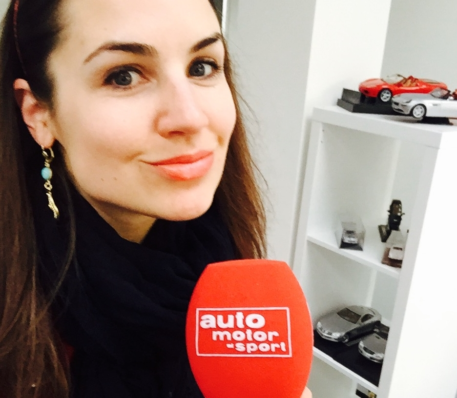 Auto Motor und Sport Channel Julia Bauer