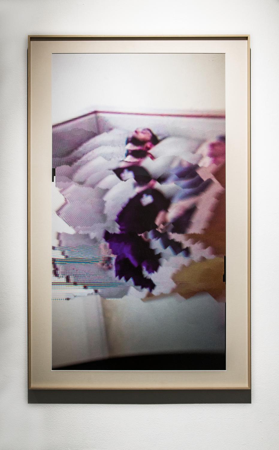 """Bed Bros, Dreaming Floating 25""""/40"""" Framed Digital Print 2017"""