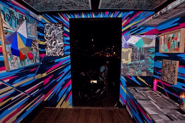 Inside the  Box truck Gallery