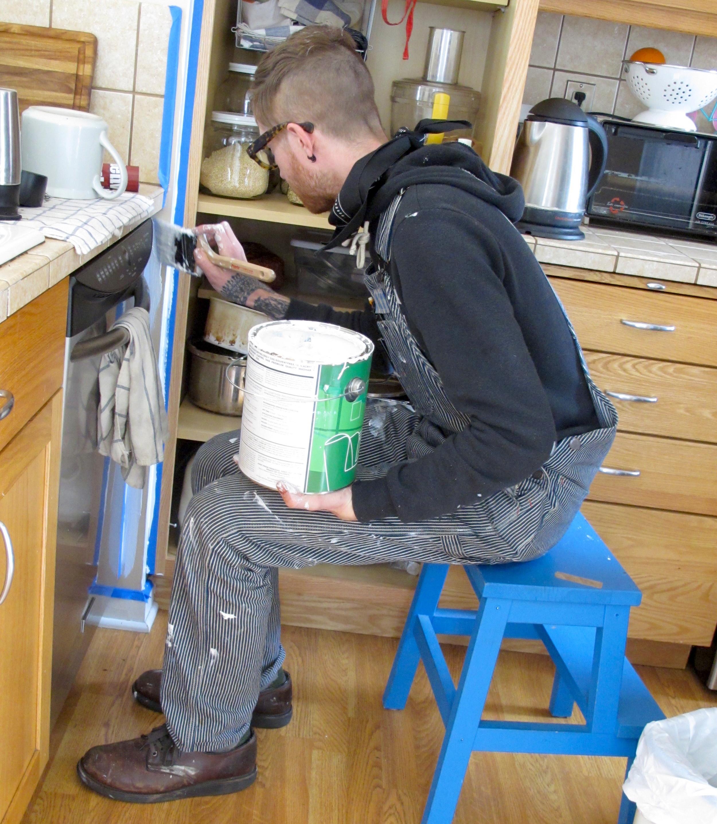 Dustin Painting Kitchen