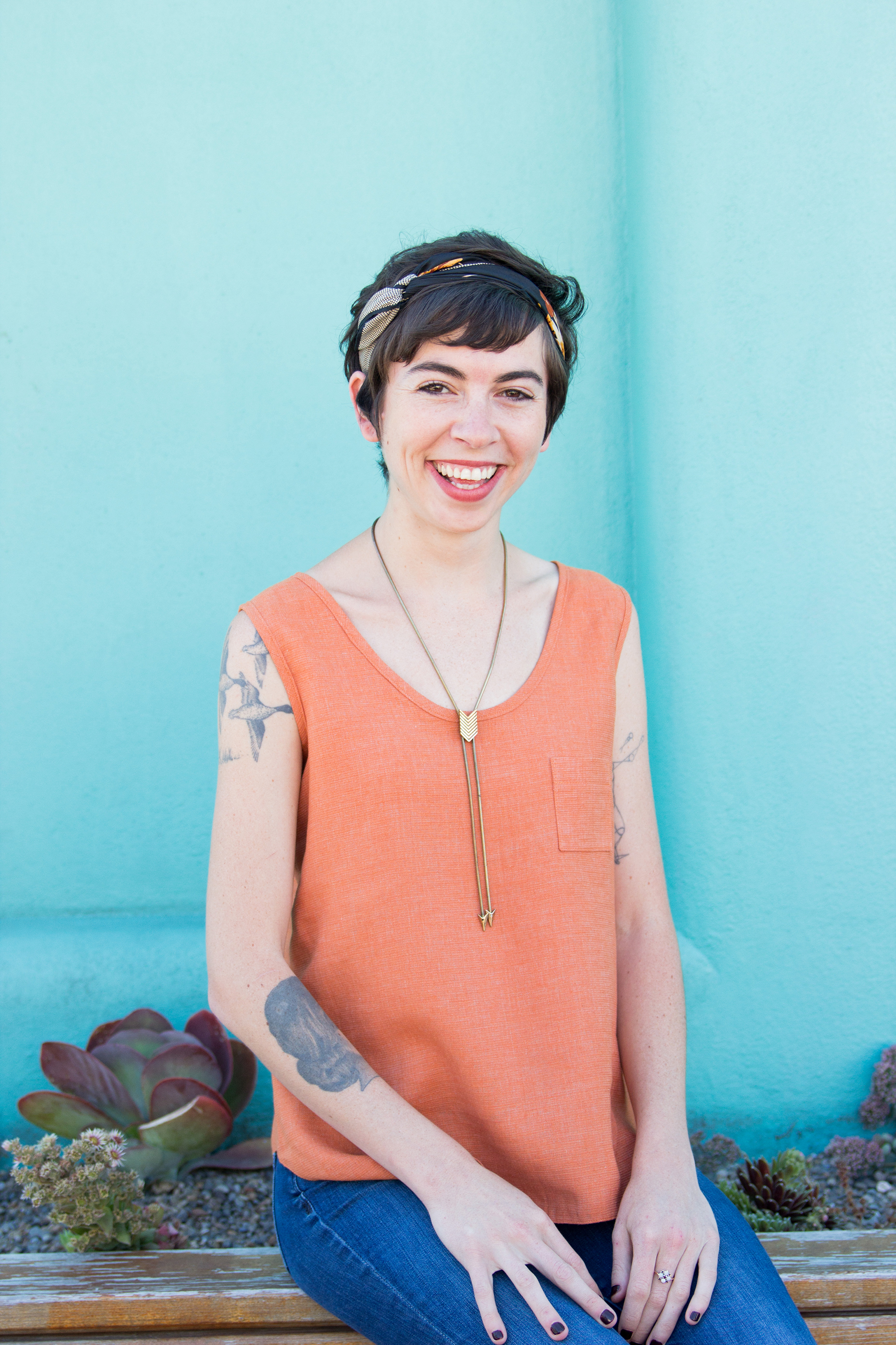 KATIE WHITTLE     Maker & Shaker         •    Sewist    •    Pattern Maker    •    Educator    Katie is a professional sewing writer, educator & pattern-maker based in Portland, OR. She loves making things, eating avocados, and drinking coffee way too late at night.   Katie teaches our intermediate garment sewing workshops, tech edits our patterns & reps our bag pattern line.