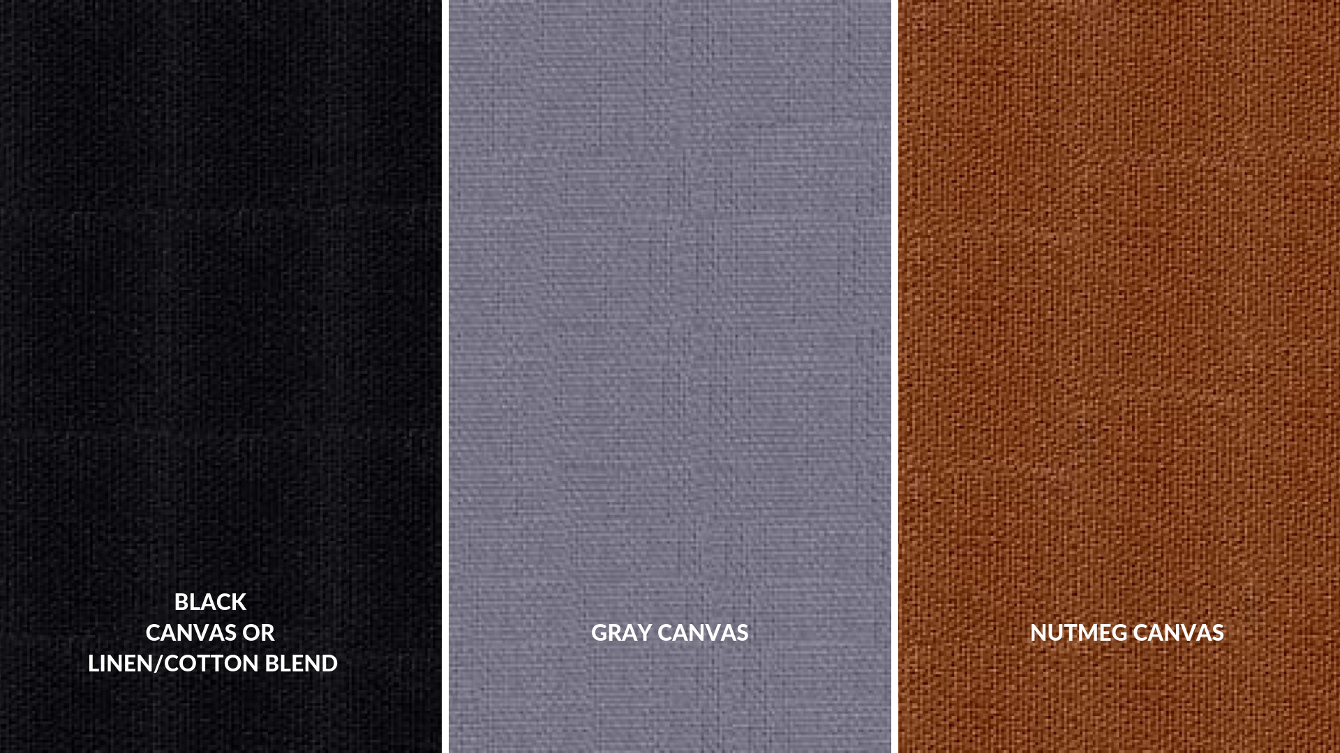 Exterior Fabric Choices