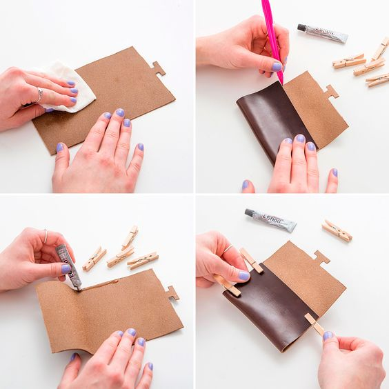 Leather Business Card Holder by Brit Co.