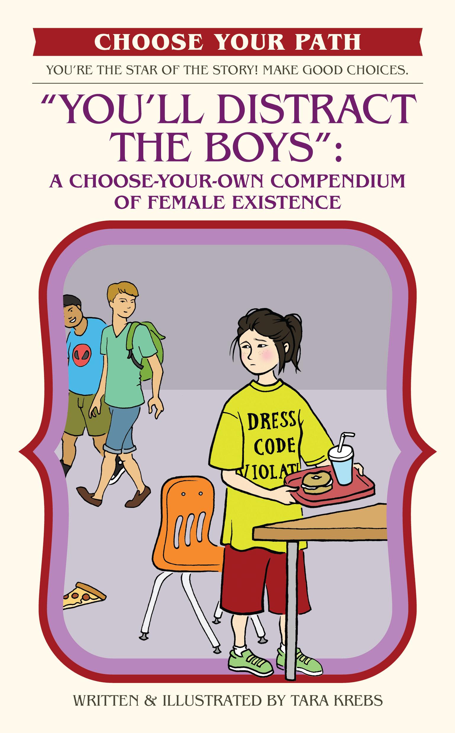 Tara Krebs You'll Distract the Boys Book Cover.jpg