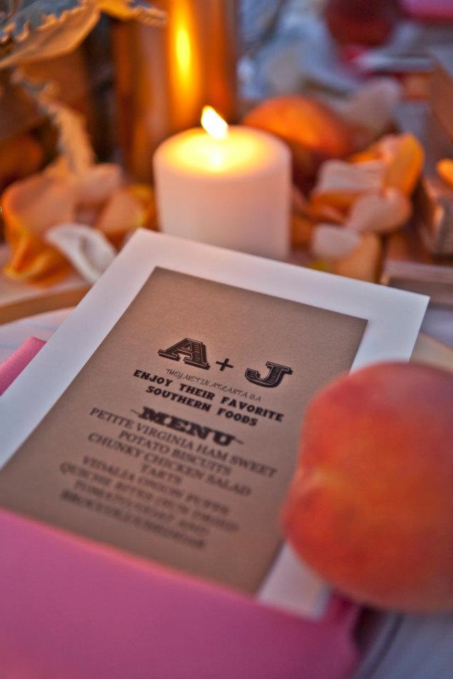 Creme de le Chic Events, Bryan Wagoner Photography, Atlanta GA  #cremedelechic #atlantawedding #peach
