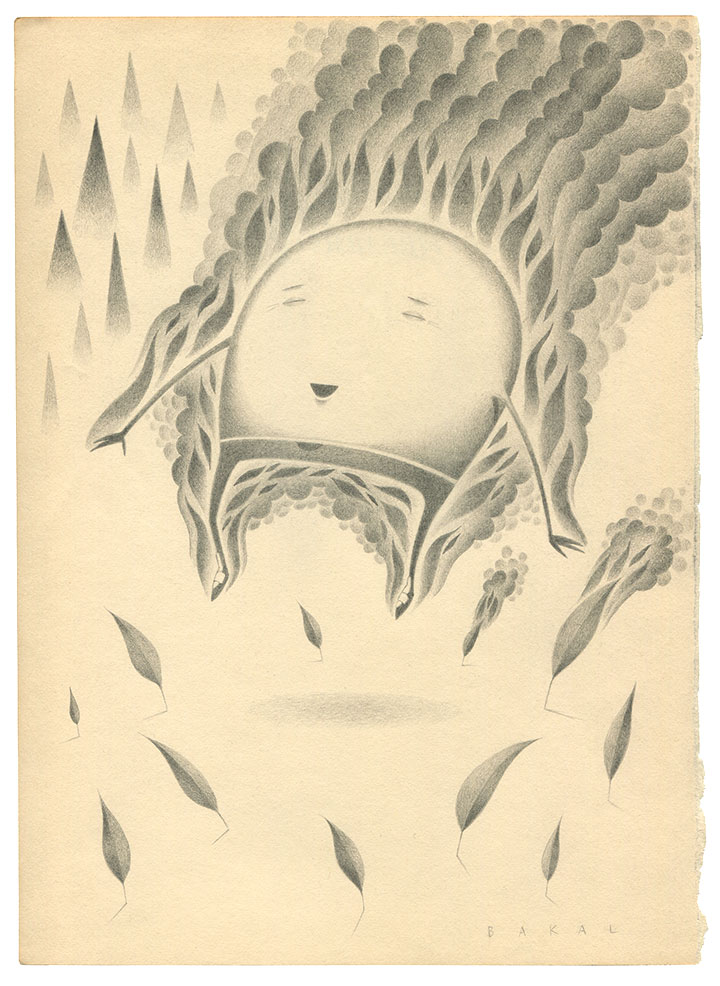 "Dim Stars: Joy (Fire) | 8.5"" x 11"" 