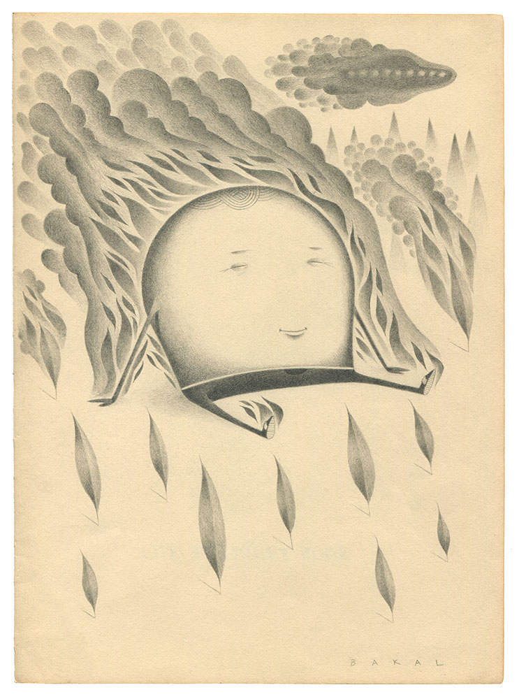 "Dim Stars: Basking (Fire) | 8.5"" x 11"" 