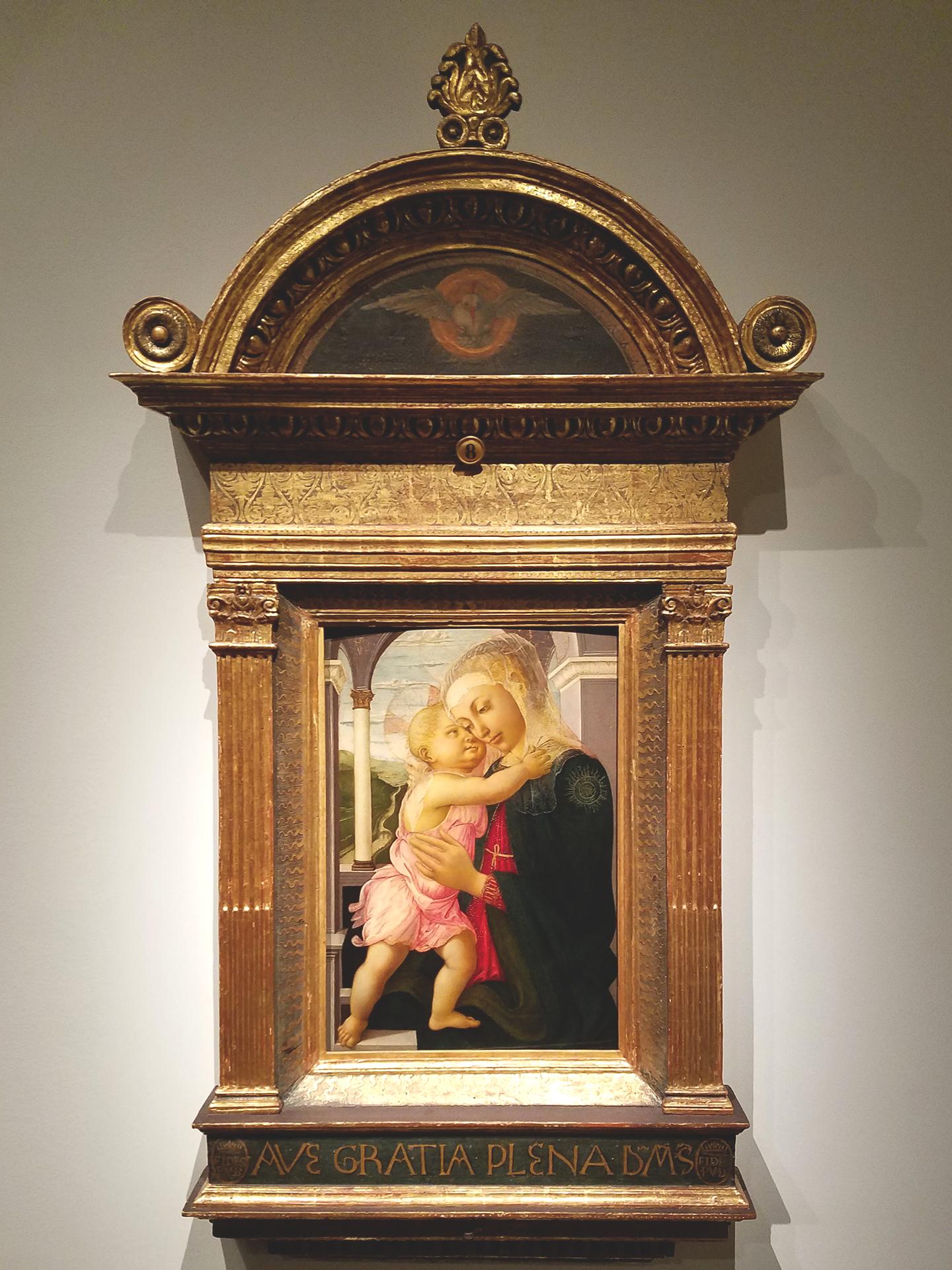 Sandro Botticelli - Madonna of the Loggia, 1467