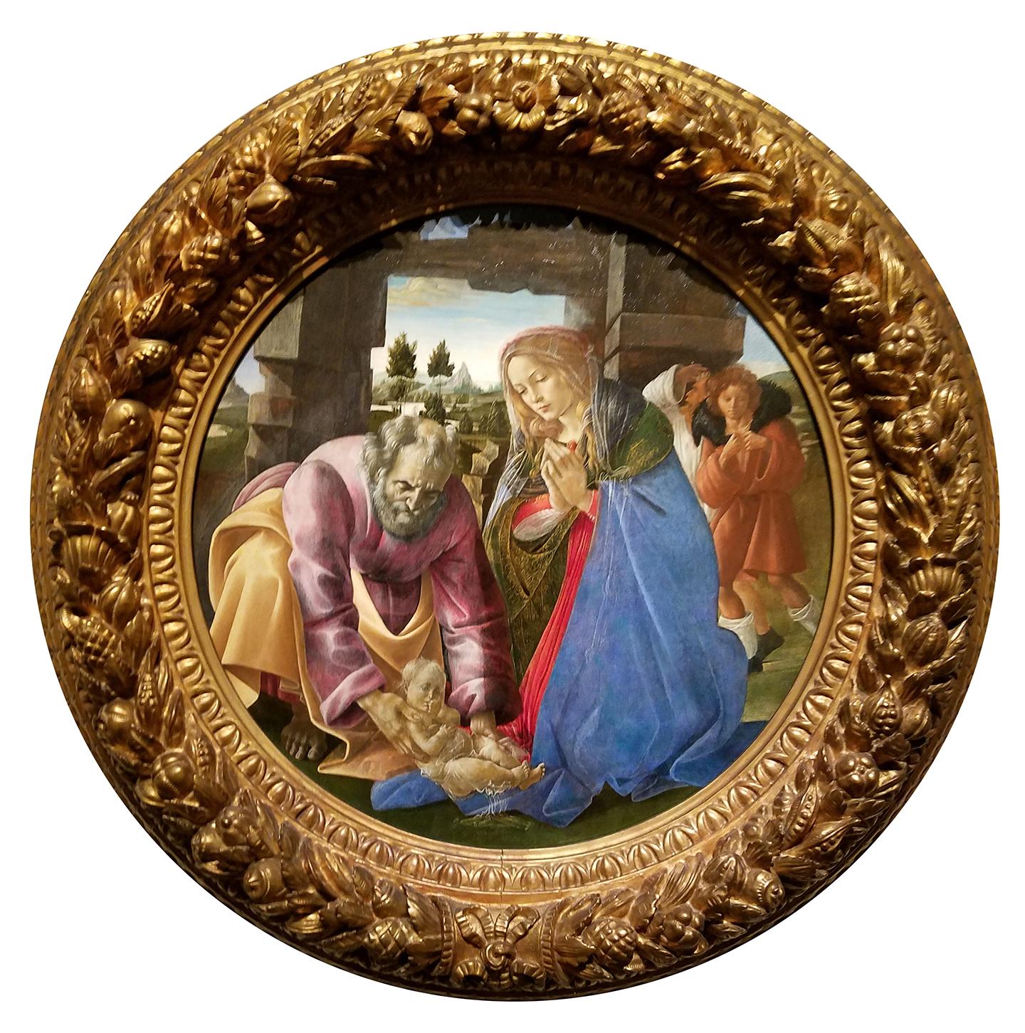 Botticelli - The Nativity, 1482-85