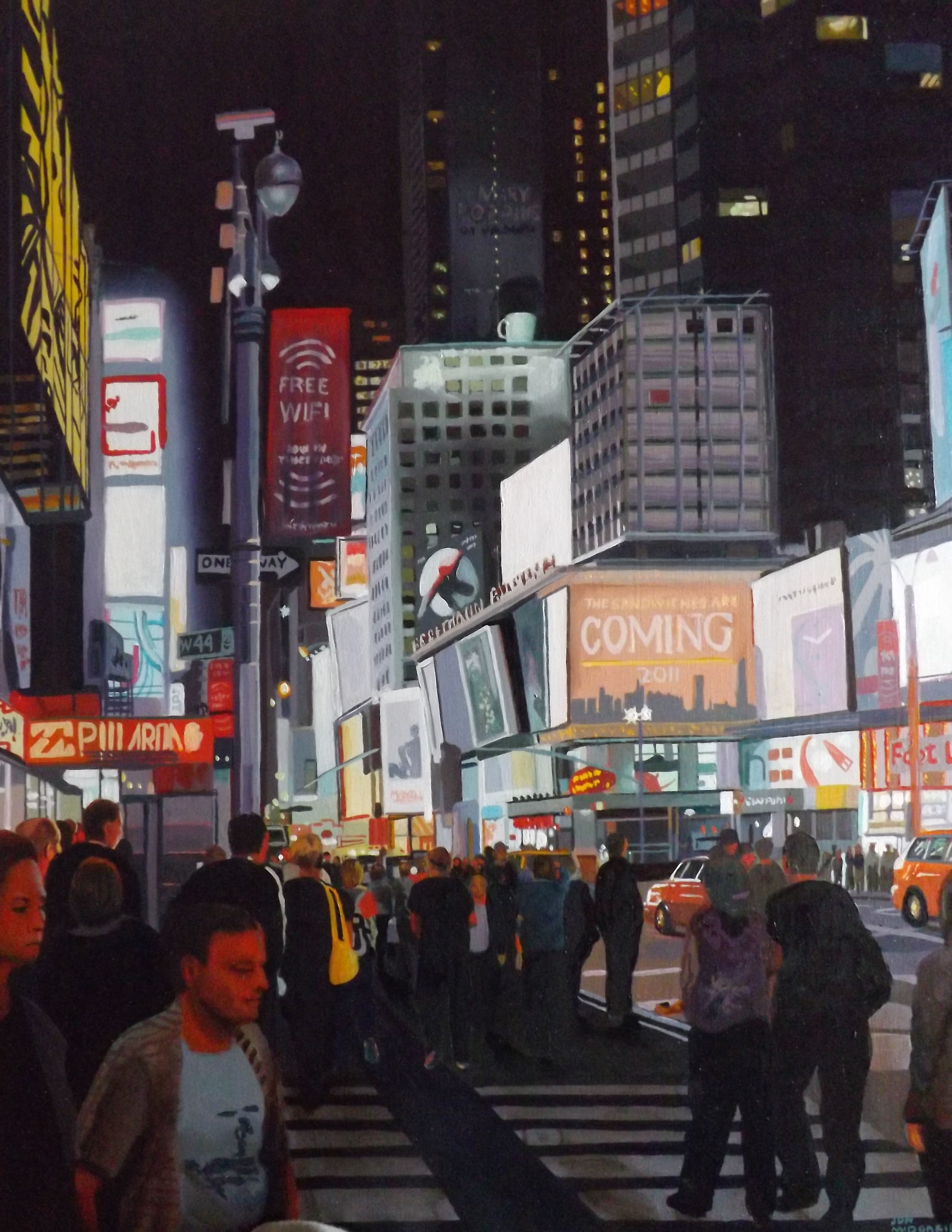 """Times Square at Night"""