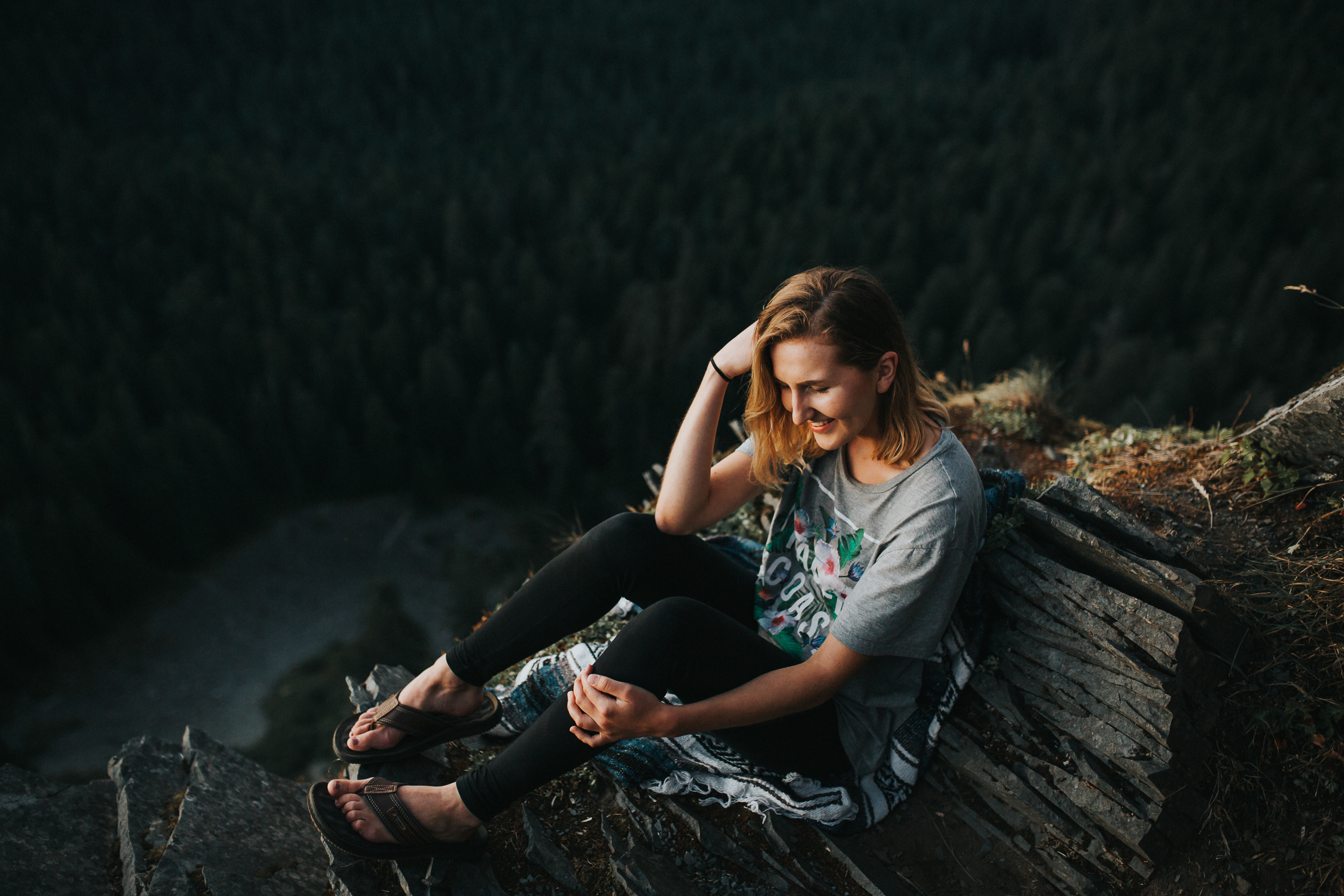 Beautiful Oregon views lifestyle Portrait