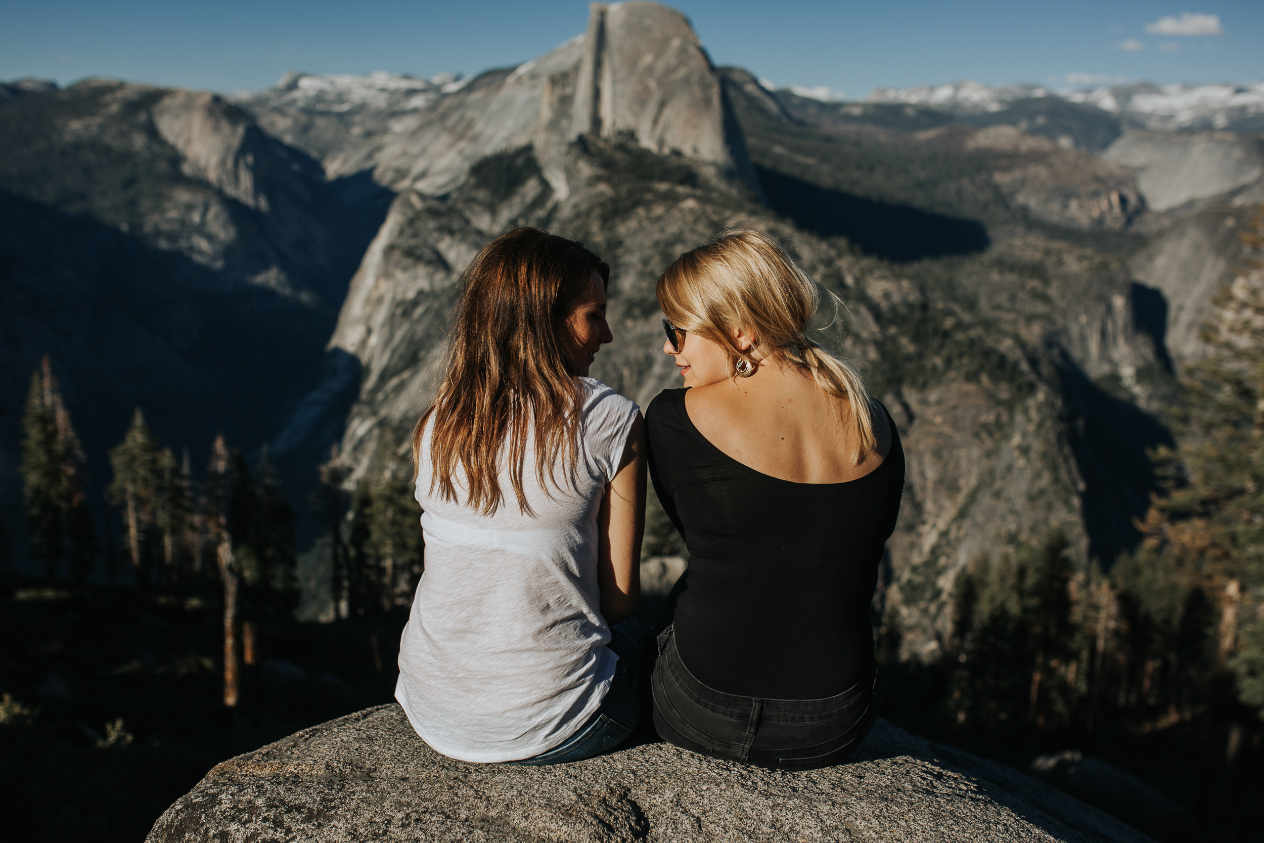 beautiful Yosemite views and girls