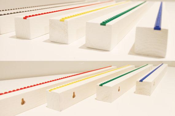 Lego Minfig Shelf Colors