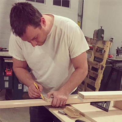 Hand-making a cabinet