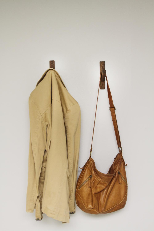 Walnut Coat Hook