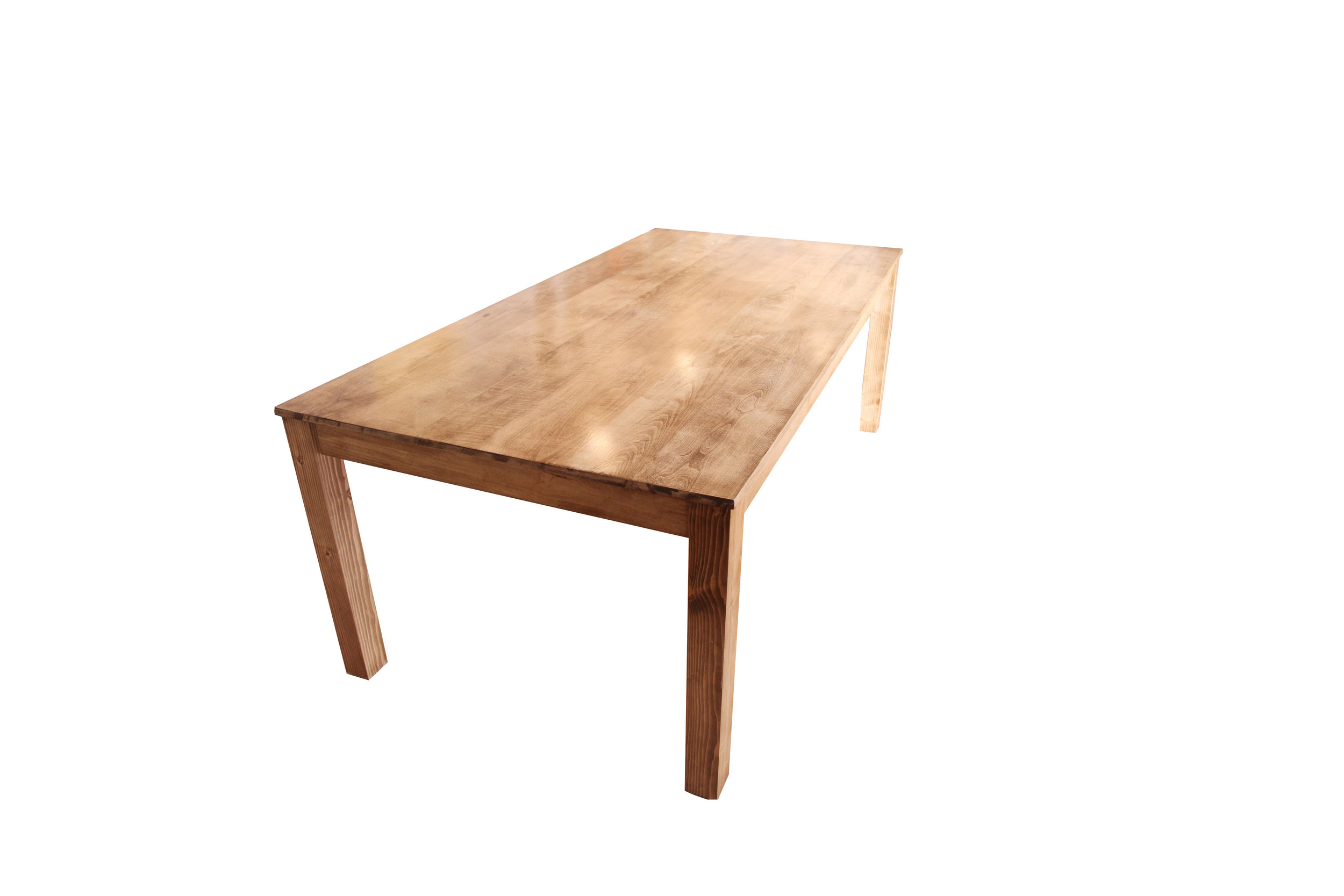 Parsons Table in a Kitchen