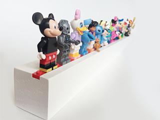 Lego Minifig Shelf -  $25.00