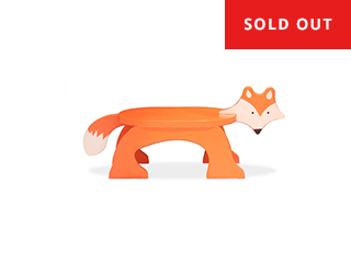 Fox Step Stool - PAINTED -  $65