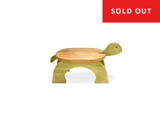 Turtle Step Stool - STAINED -  $65