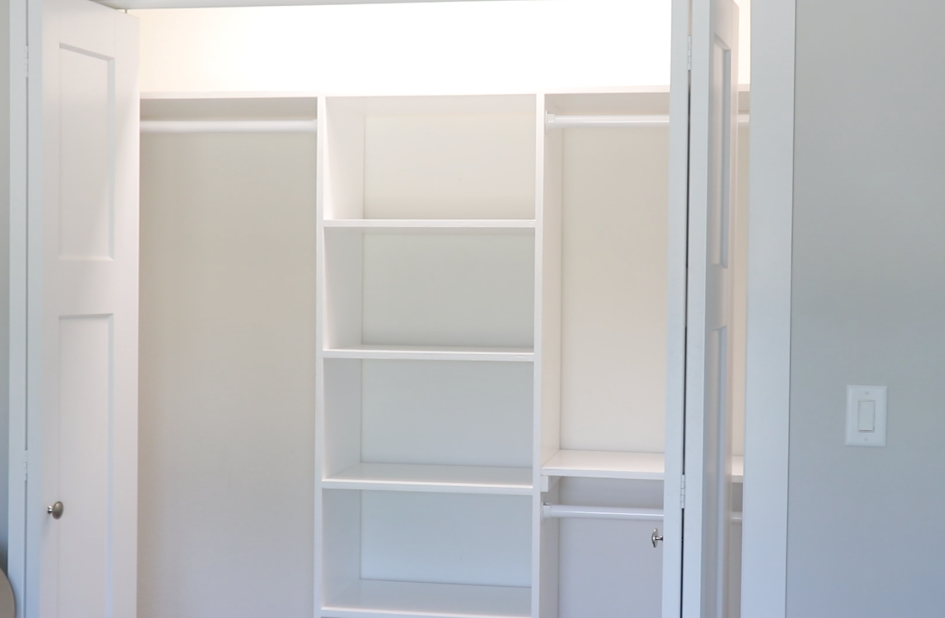 How to build custom closets for $100 DIY Woodworking