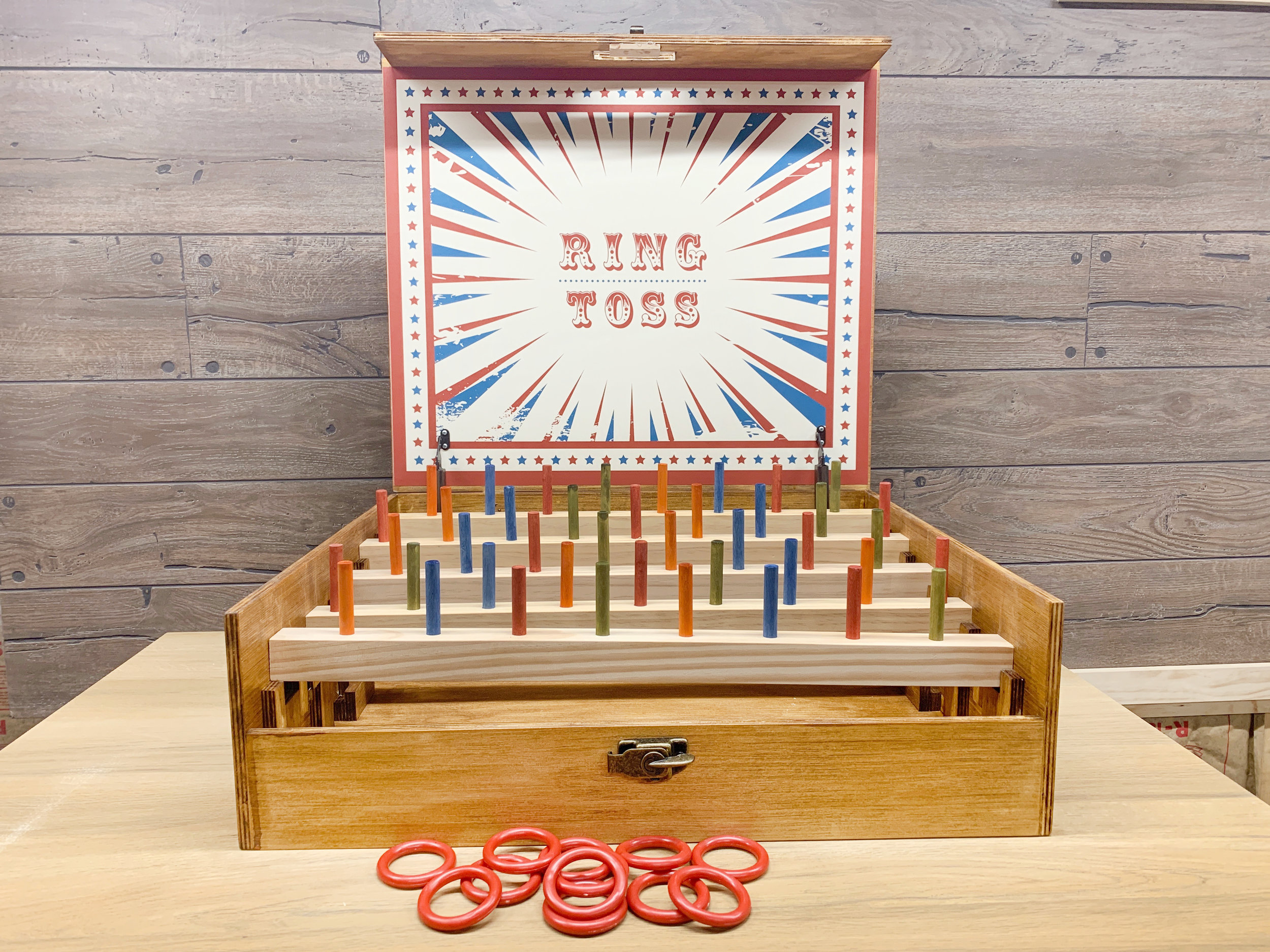 Ring Toss Carnival Game Wood Working Project