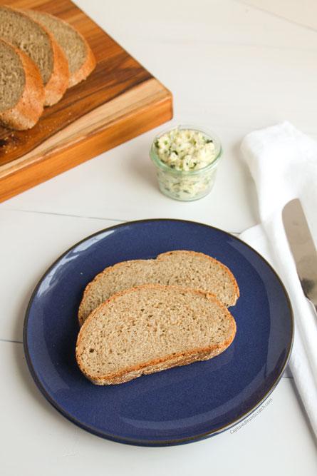 Rye Bread & an Herb Butter