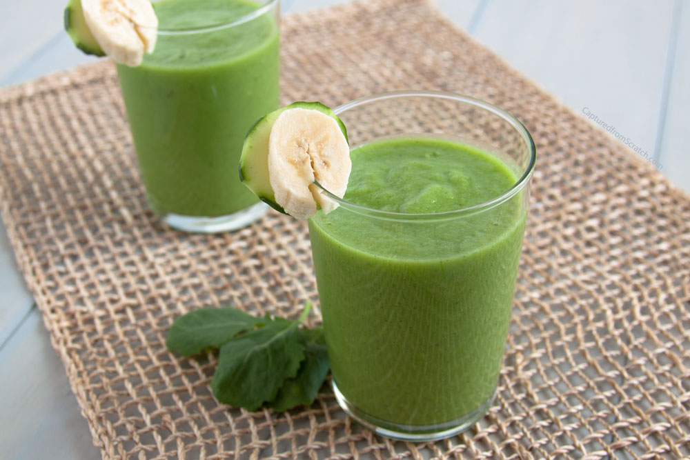 Pineapple & Banana Green Smoothie