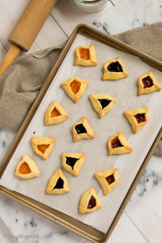 Hamantaschen with Fruit Fillings
