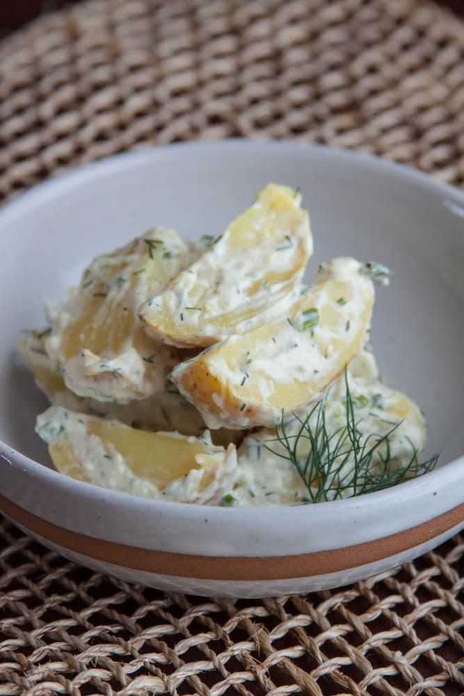 Dill & Horseradish Potato Salad