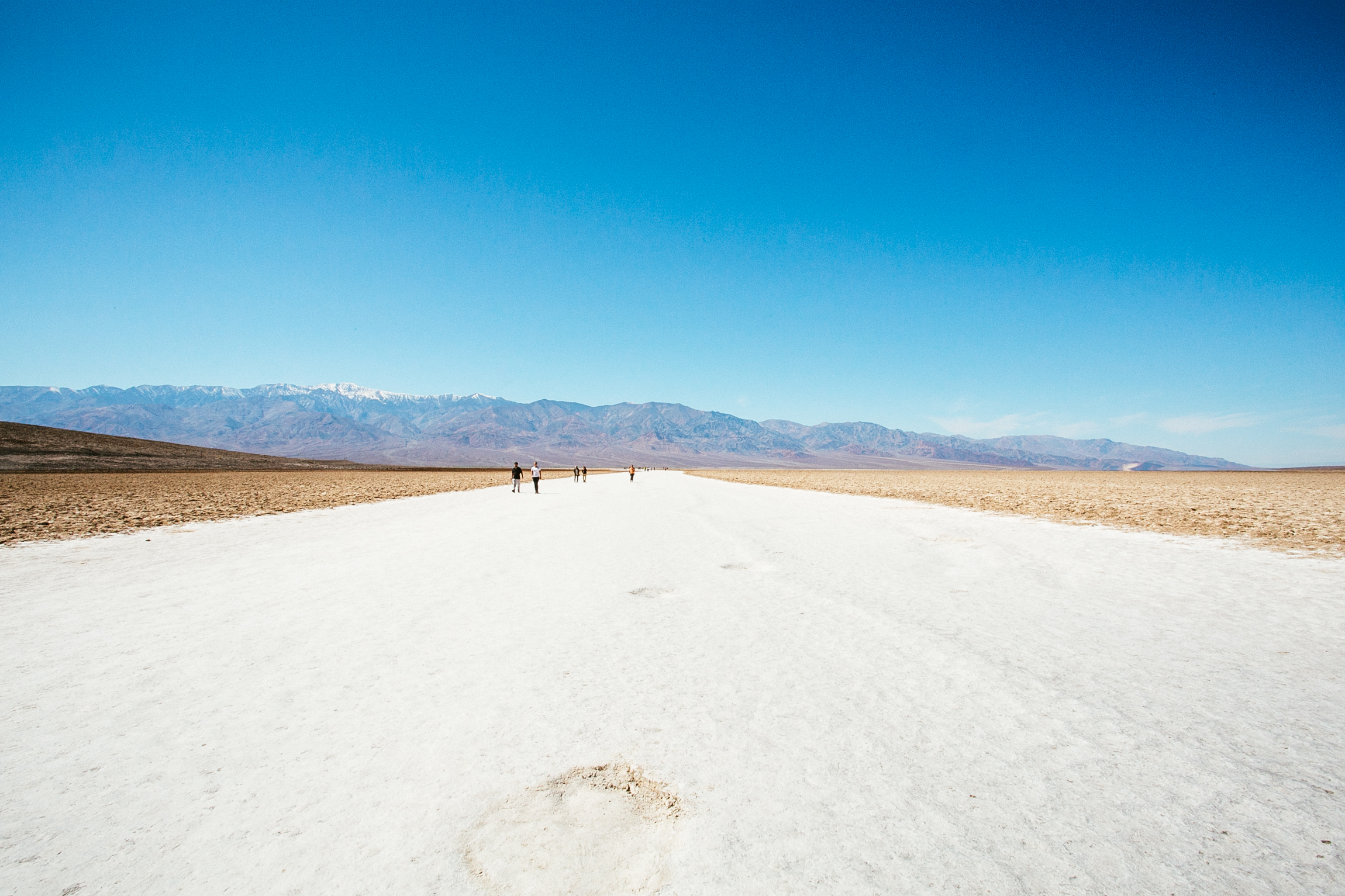 Badwater Basin. Lowest point in the North America.