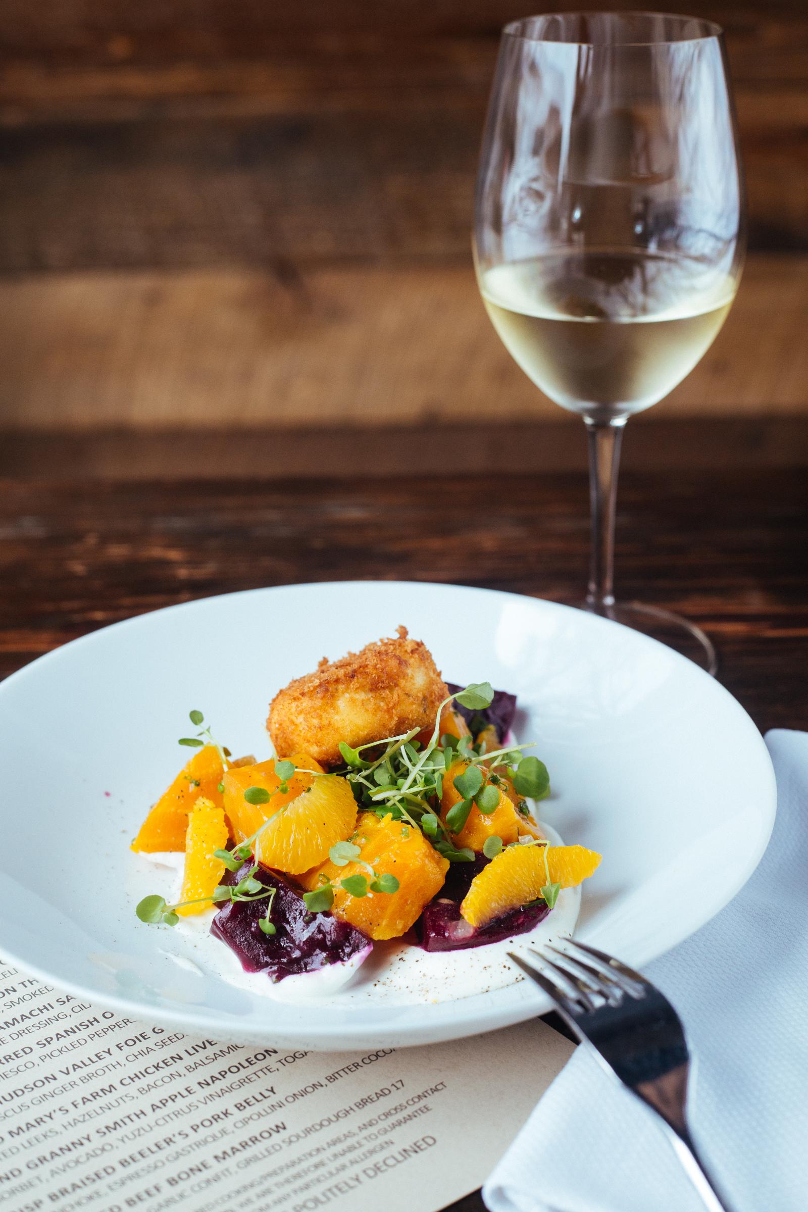 Roasted Heirloom Beet Salad