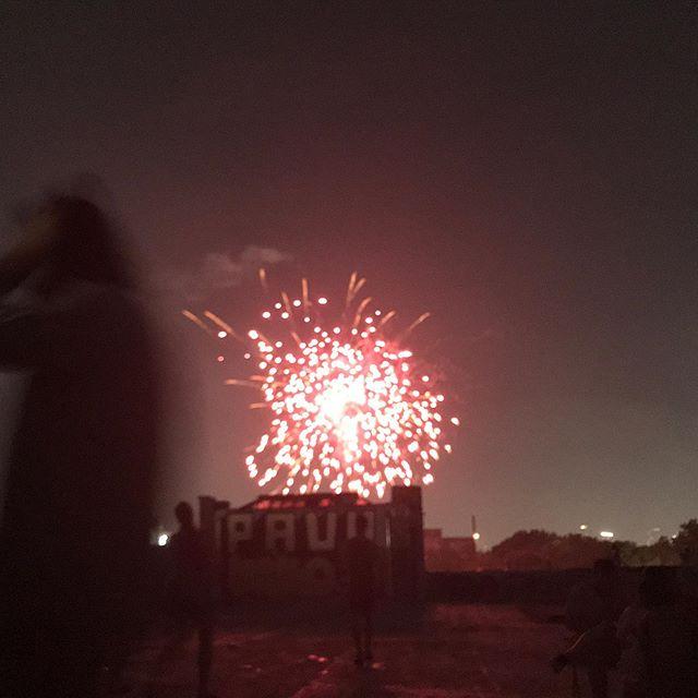 """Chasing Fireworks"" // Bushwick, 2019"