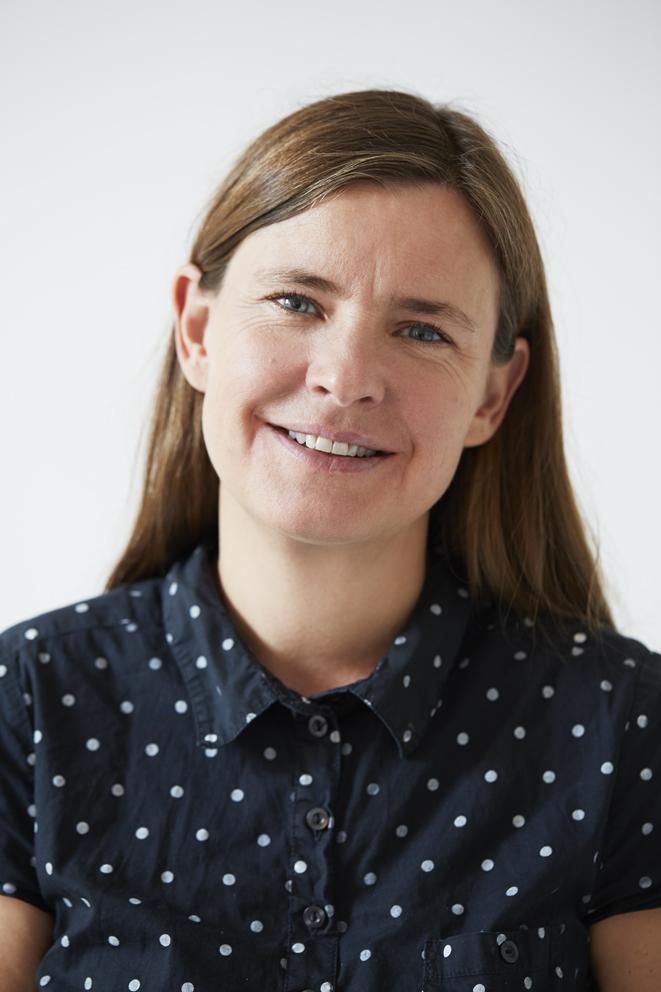 Maria Bolme, manusförfattare och regissör.