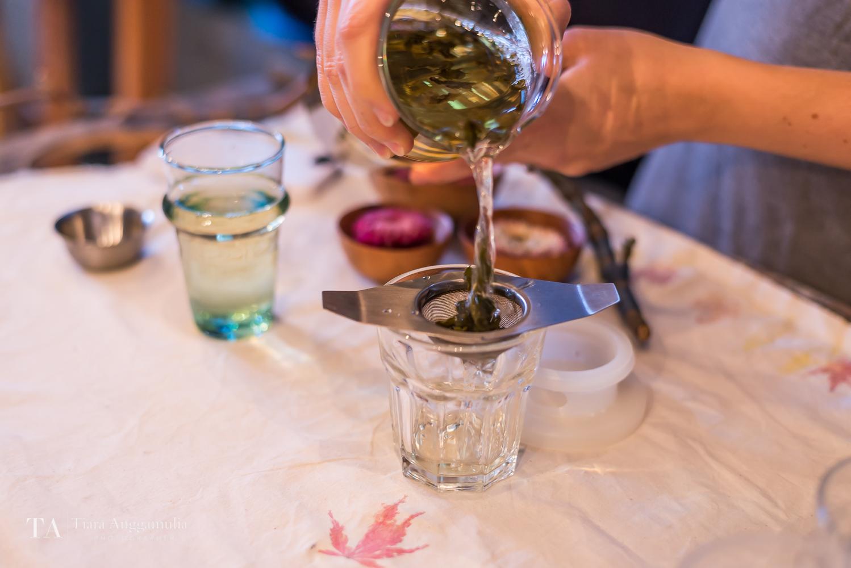The most refreshing Oolong tea at Kinfolk gathering.