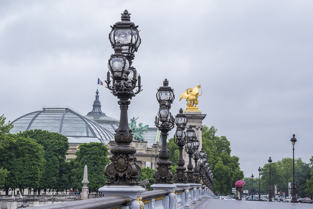 A view from Pont Alexandre III.