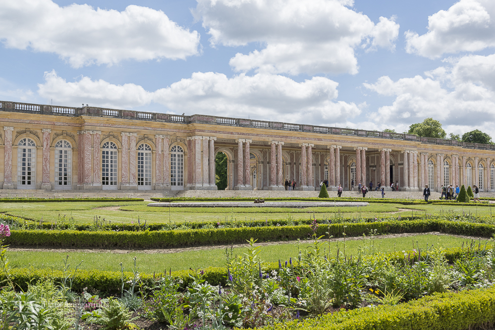 Exterior of the Grand Trianon.