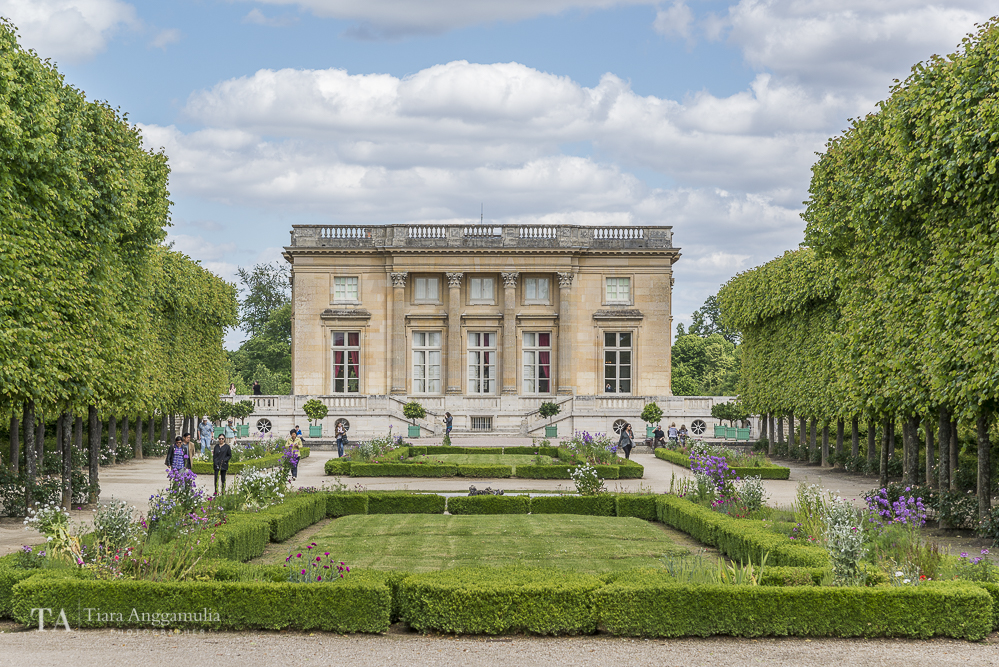 A view of the Petit Trianon.