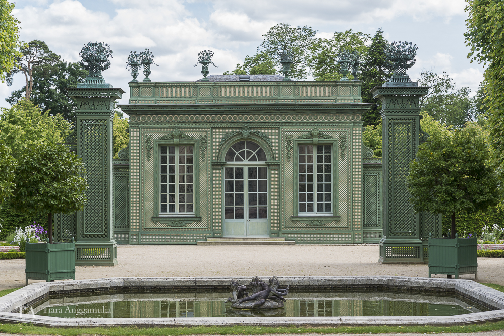 The French Pavilion in Versailles.
