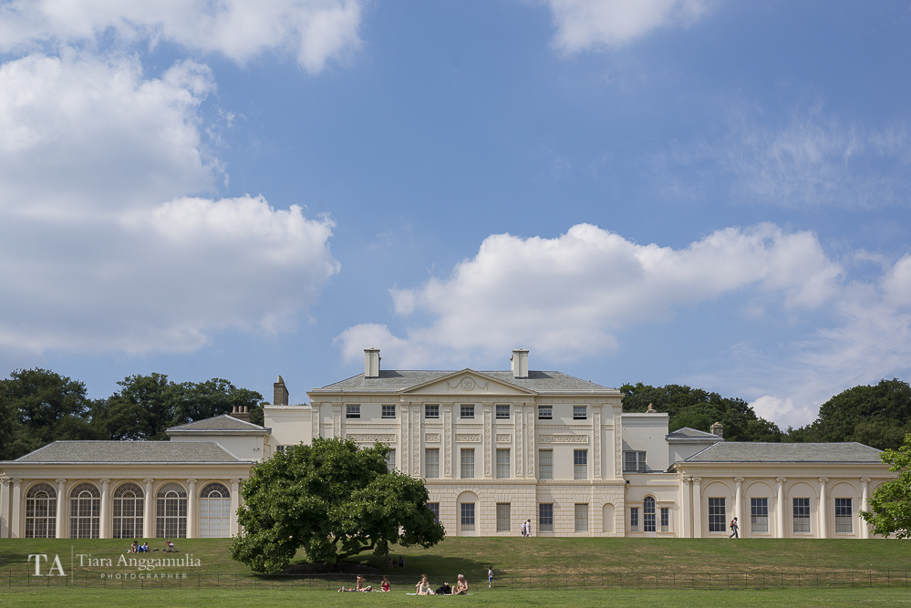 A view of Kenwood House.
