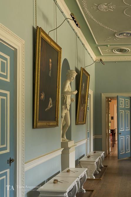 Interior of Kenwood House.