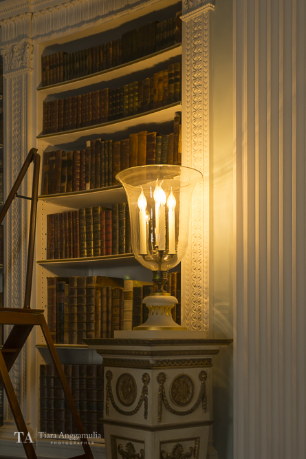 The library in Kenwood House.
