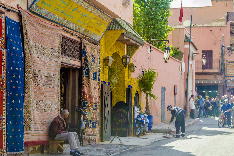 A view of a street in Marrakech.jpg
