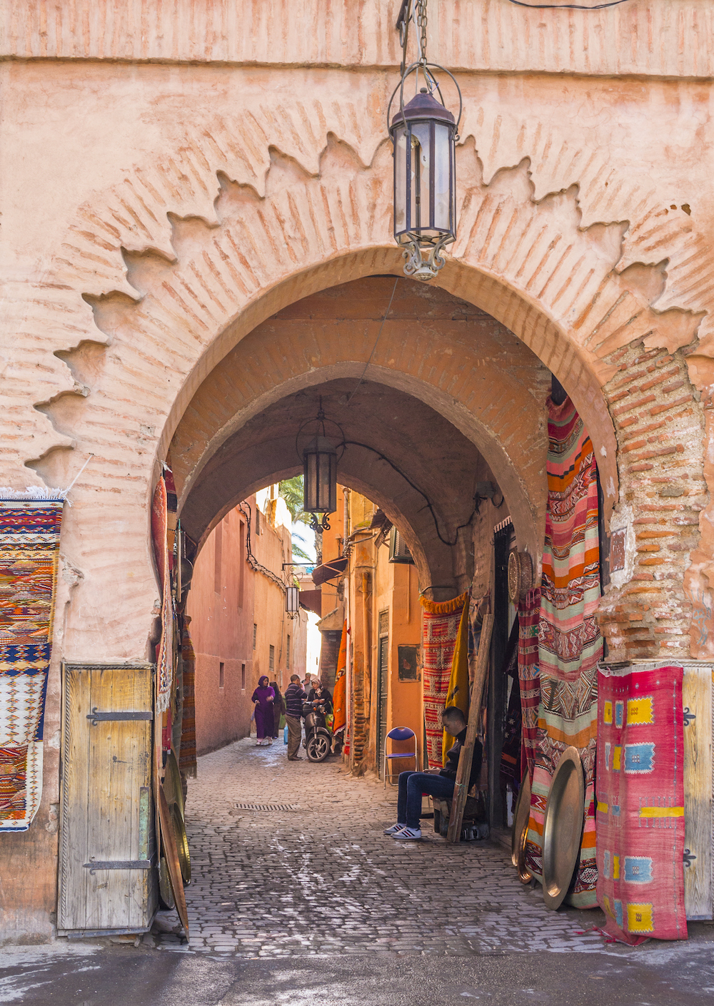 Street view inside the Medina in Marrakech.jpg