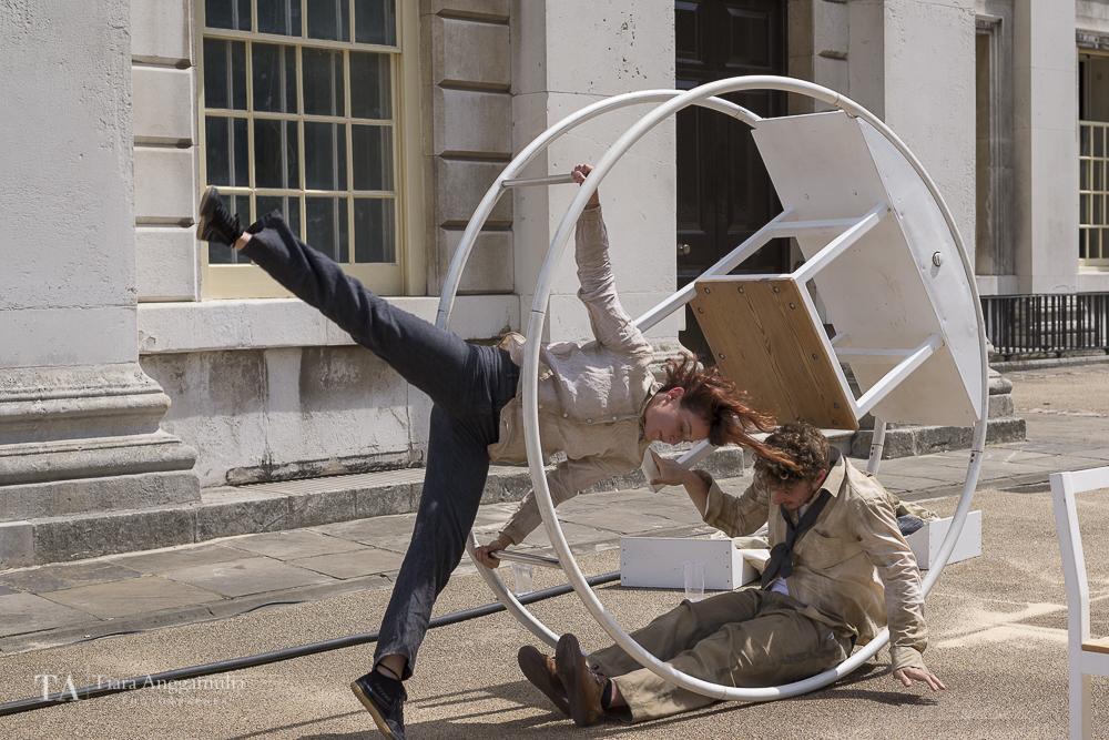 Frantic performing at Greenwich + Docklands International Festival.