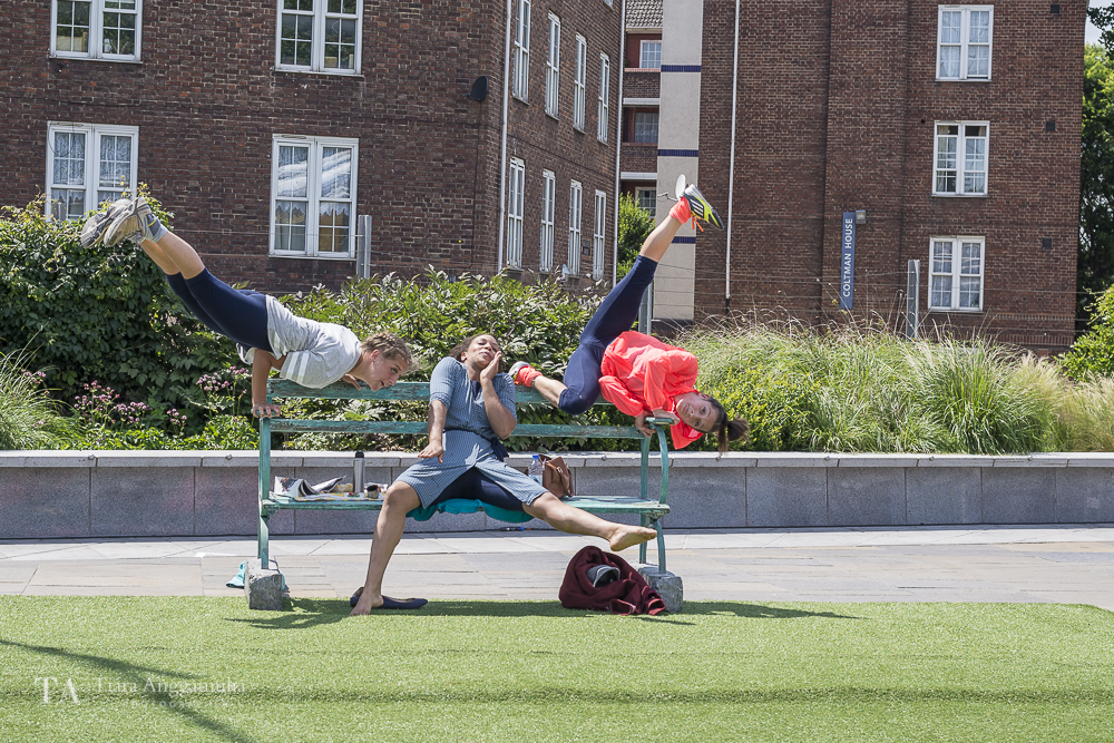 Bench performing at Greenwich + Docklands International Festival.