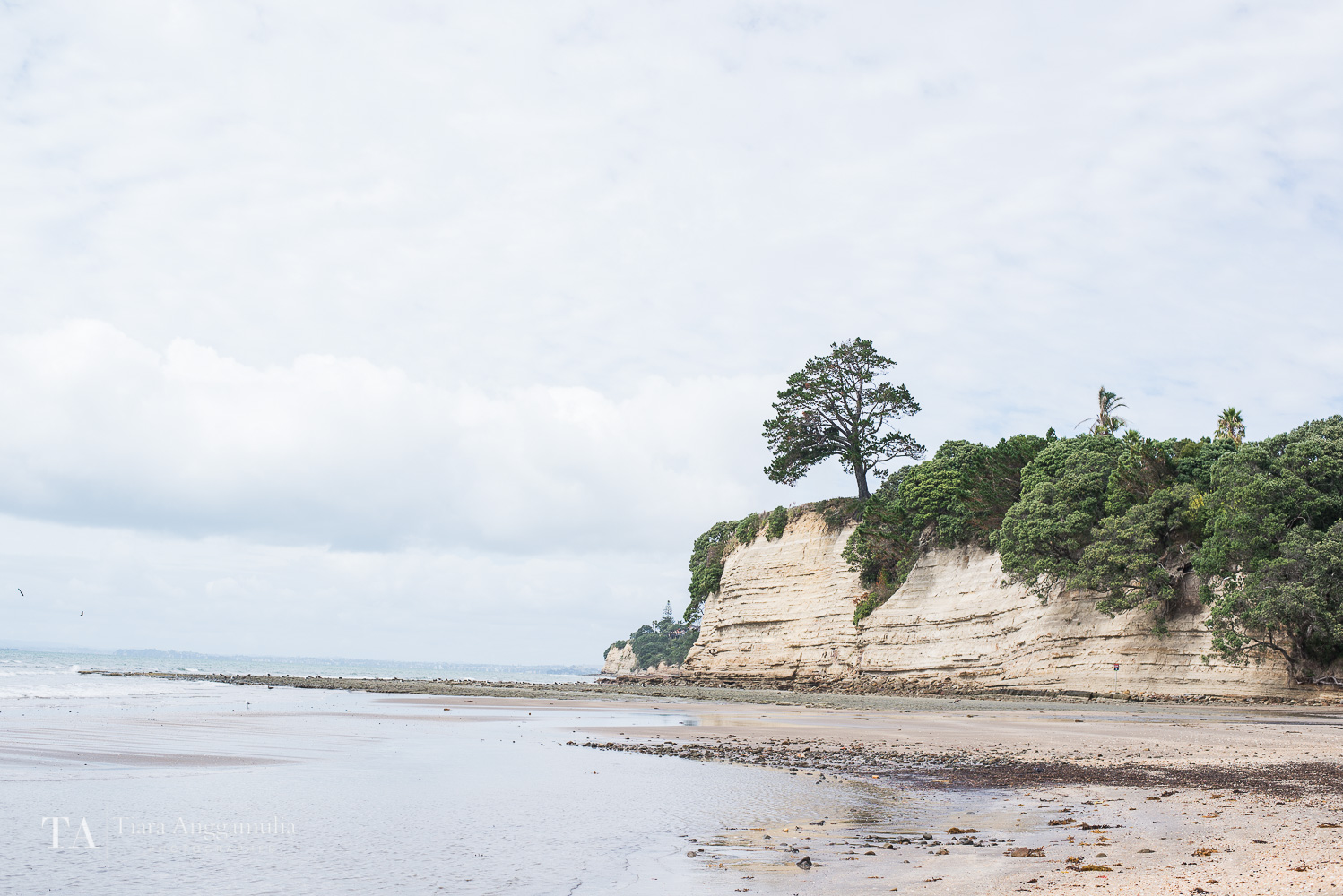 The serenity of Browns Bay beach.