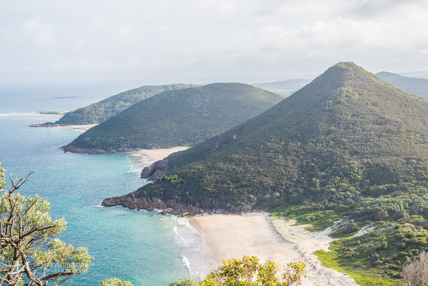 A breathtaking view from Tomaree Head Summit.