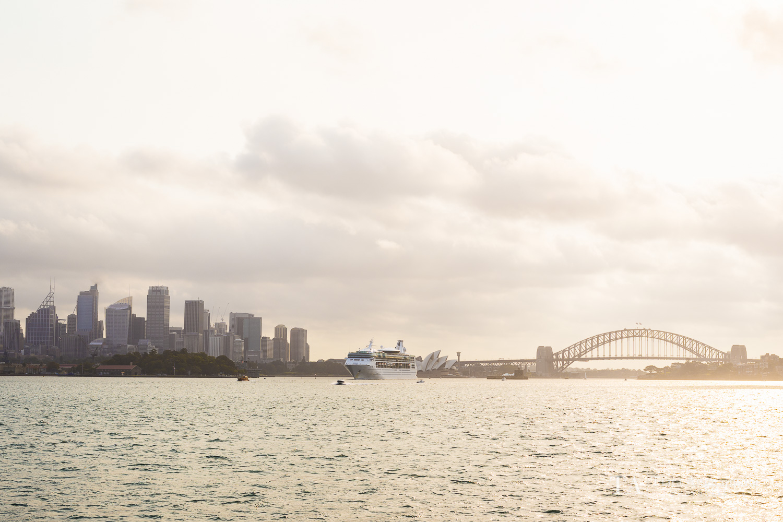A view towards the Skyline of Sydney.